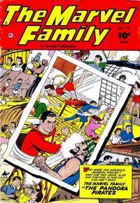 Cover Thumbnail for The Marvel Family (Fawcett, 1945 series) #72