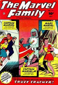Cover Thumbnail for The Marvel Family (Fawcett, 1945 series) #73