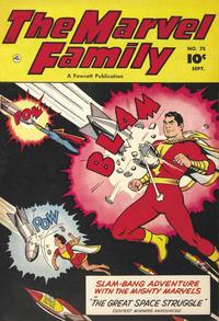 Cover Thumbnail for The Marvel Family (Fawcett, 1945 series) #75