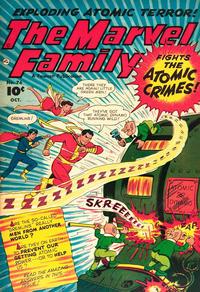 Cover Thumbnail for The Marvel Family (Fawcett, 1945 series) #76