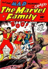Cover Thumbnail for The Marvel Family (Fawcett, 1945 series) #79