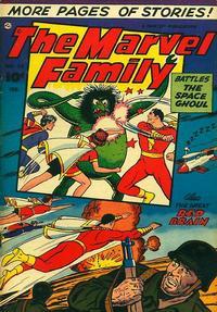 Cover Thumbnail for The Marvel Family (Fawcett, 1945 series) #80