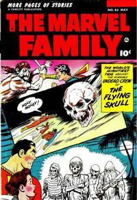Cover Thumbnail for The Marvel Family (Fawcett, 1945 series) #83