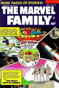Cover Thumbnail for The Marvel Family (Fawcett, 1945 series) #84