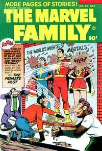 Cover Thumbnail for The Marvel Family (Fawcett, 1945 series) #85