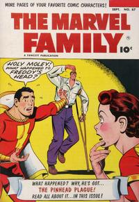 Cover Thumbnail for The Marvel Family (Fawcett, 1945 series) #87