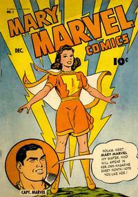 Cover Thumbnail for Mary Marvel (Fawcett, 1945 series) #1