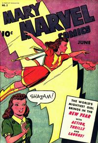 Cover Thumbnail for Mary Marvel (Fawcett, 1945 series) #2