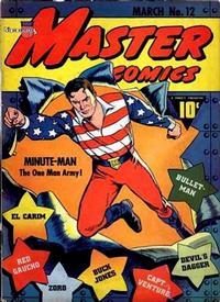 Cover Thumbnail for Master Comics (Fawcett, 1940 series) #12