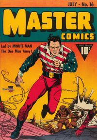 Cover Thumbnail for Master Comics (Fawcett, 1940 series) #16
