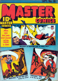 Cover Thumbnail for Master Comics (Fawcett, 1940 series) #18