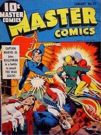 Cover Thumbnail for Master Comics (Fawcett, 1940 series) #22
