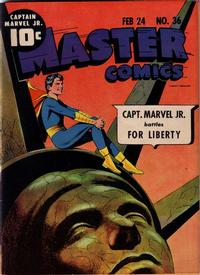 Cover Thumbnail for Master Comics (Fawcett, 1940 series) #36