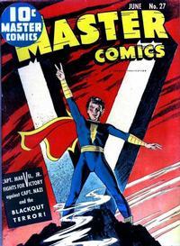 Cover Thumbnail for Master Comics (Fawcett, 1940 series) #27