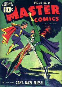 Cover Thumbnail for Master Comics (Fawcett, 1940 series) #34