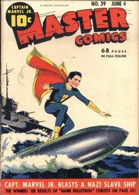 Cover Thumbnail for Master Comics (Fawcett, 1940 series) #39