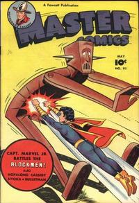Cover Thumbnail for Master Comics (Fawcett, 1940 series) #91