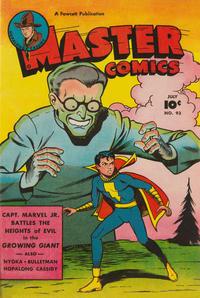 Cover Thumbnail for Master Comics (Fawcett, 1940 series) #93