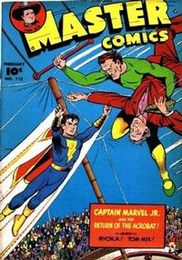Cover Thumbnail for Master Comics (Fawcett, 1940 series) #112