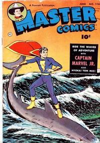 Cover Thumbnail for Master Comics (Fawcett, 1940 series) #116