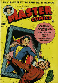 Cover Thumbnail for Master Comics (Fawcett, 1940 series) #117