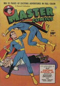 Cover Thumbnail for Master Comics (Fawcett, 1940 series) #118