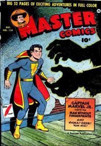 Cover Thumbnail for Master Comics (Fawcett, 1940 series) #119