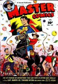 Cover for Master Comics (Fawcett, 1940 series) #127