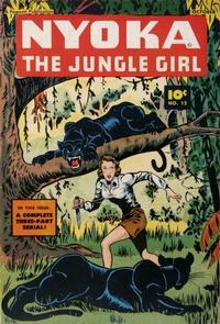 Cover Thumbnail for Nyoka the Jungle Girl (Fawcett, 1945 series) #12