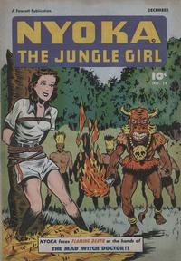Cover Thumbnail for Nyoka the Jungle Girl (Fawcett, 1945 series) #14