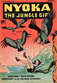 Cover Thumbnail for Nyoka the Jungle Girl (Fawcett, 1945 series) #16
