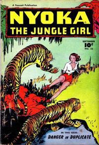 Cover Thumbnail for Nyoka the Jungle Girl (Fawcett, 1945 series) #23