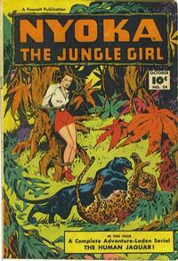 Cover Thumbnail for Nyoka the Jungle Girl (Fawcett, 1945 series) #24