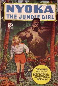 Cover Thumbnail for Nyoka the Jungle Girl (Fawcett, 1945 series) #30