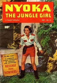 Cover Thumbnail for Nyoka the Jungle Girl (Fawcett, 1945 series) #55