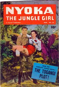 Cover Thumbnail for Nyoka the Jungle Girl (Fawcett, 1945 series) #65