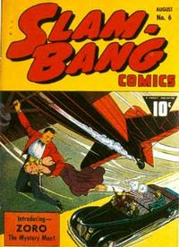 Cover Thumbnail for Slam-Bang Comics (Fawcett, 1940 series) #6