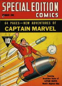 Cover Thumbnail for Special Edition Comics (Fawcett, 1940 series) #1