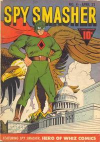 Cover Thumbnail for Spy Smasher (Fawcett, 1941 series) #4
