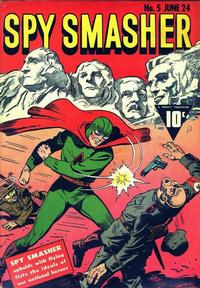 Cover Thumbnail for Spy Smasher (Fawcett, 1941 series) #5