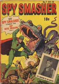 Cover Thumbnail for Spy Smasher (Fawcett, 1941 series) #7