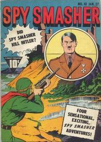 Cover Thumbnail for Spy Smasher (Fawcett, 1941 series) #10