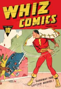 Cover Thumbnail for Whiz Comics (Fawcett, 1940 series) #2
