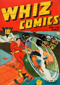 Cover Thumbnail for Whiz Comics (Fawcett, 1940 series) #4 (3)