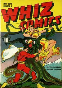Cover Thumbnail for Whiz Comics (Fawcett, 1940 series) #5 (4)