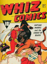 Cover Thumbnail for Whiz Comics (Fawcett, 1940 series) #6
