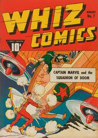 Cover Thumbnail for Whiz Comics (Fawcett, 1940 series) #7