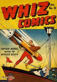 Cover Thumbnail for Whiz Comics (Fawcett, 1940 series) #10