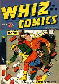 Cover Thumbnail for Whiz Comics (Fawcett, 1940 series) #11