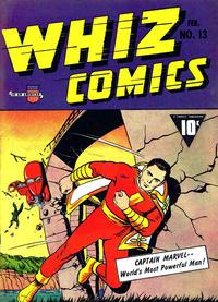 Cover Thumbnail for Whiz Comics (Fawcett, 1940 series) #13